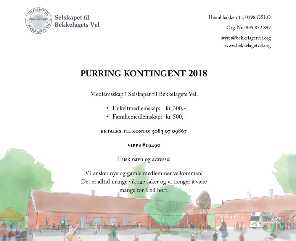 Purring på medlemskontingenten